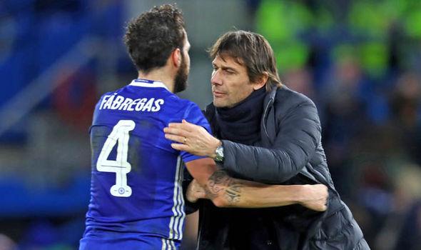Chelsea Cesc Fabregas Antonio Conte