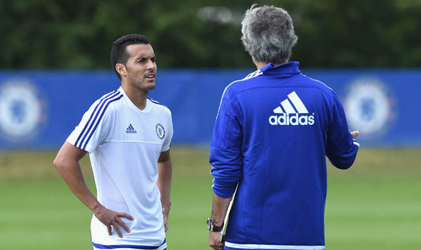Pedro Chelsea Jose Mourinho