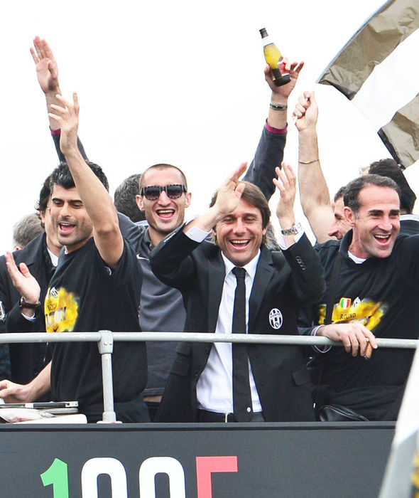Antonio Conte during his time in charge of Juventus