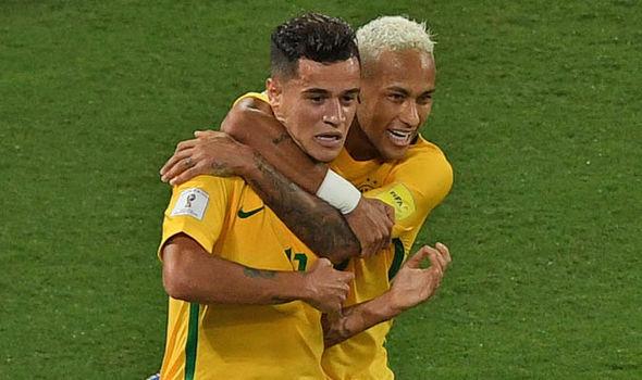 Coutinho and Neymar
