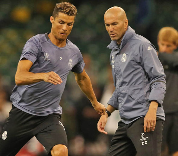 Cristiano Ronaldo is aiming to win his fourth Champions League trophy