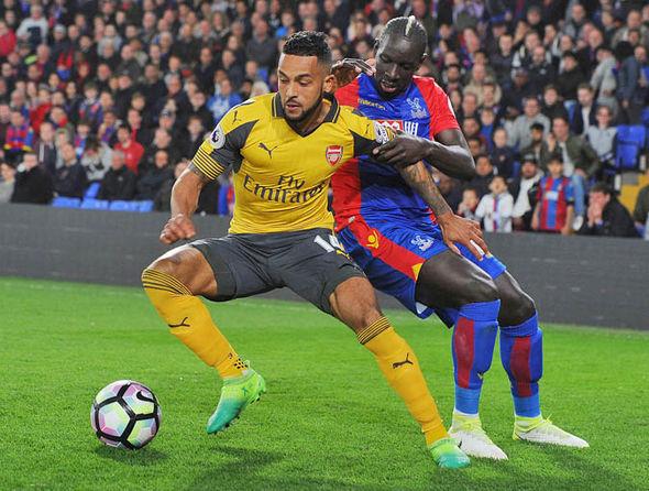 Mamadou Sakho playing for Palace