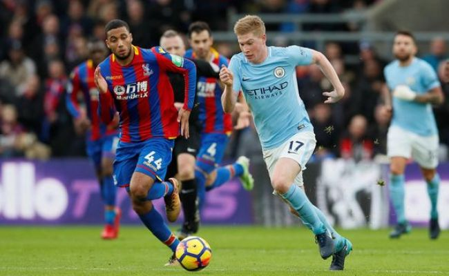 Crystal Palace 0 0 Man City As It Happened Kevin De