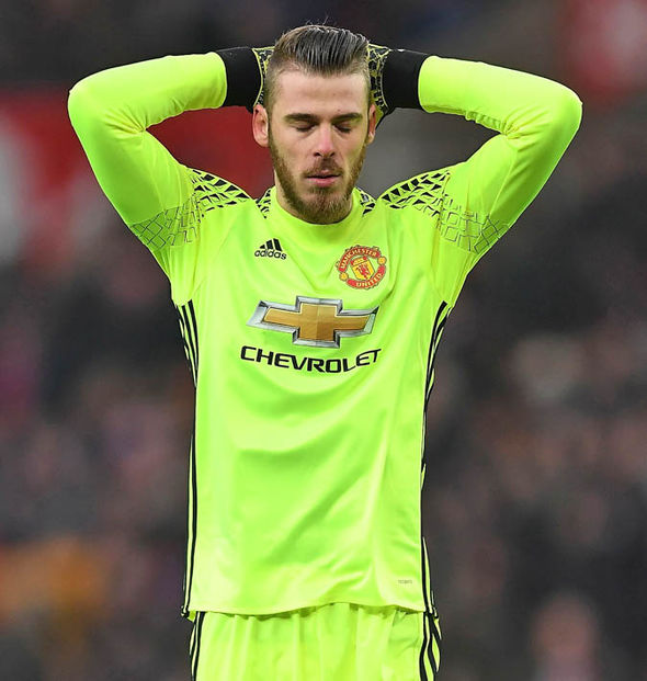 David De Gea at Man United