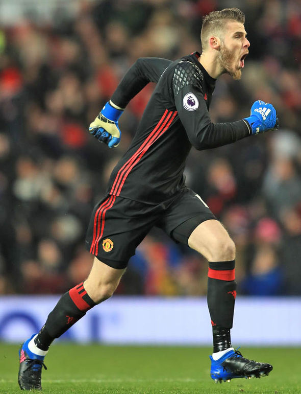 David De Gea at Manchester United
