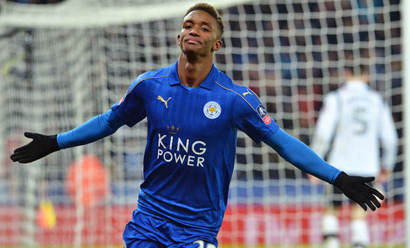 Demarai Gray added a third for Leicester in extra-time
