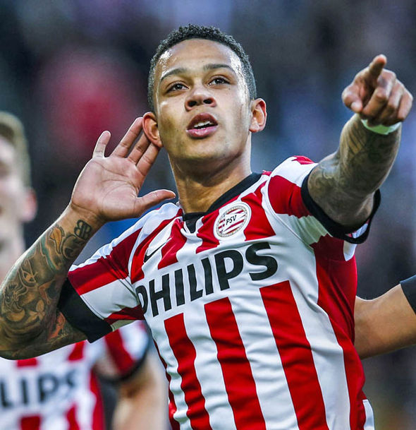 Depay has struggled to live up to his reputation from his PSV days