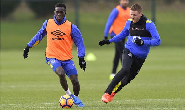 Everton midfielder Idrissa Gana Gueye