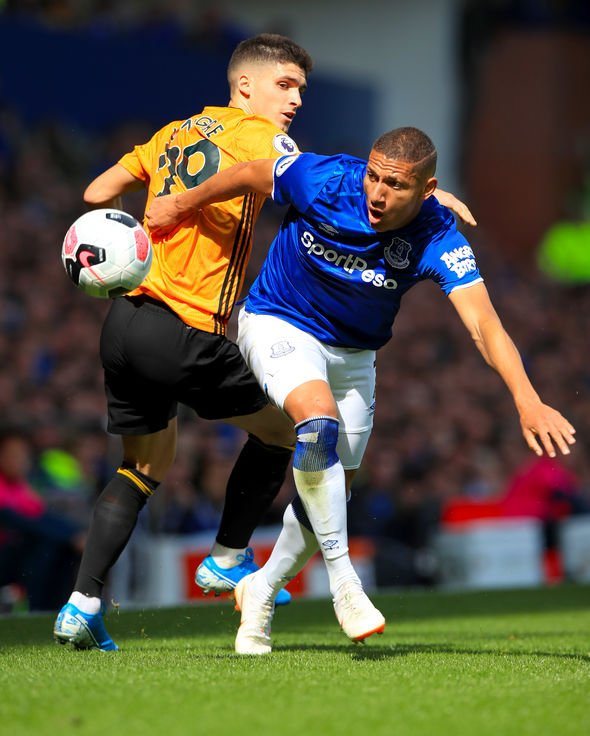 Everton 3 2 Wolves As It Happened Richarlison Double