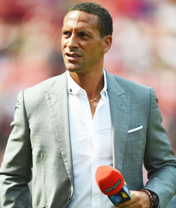 BT Sport pundit Rio Ferdinand