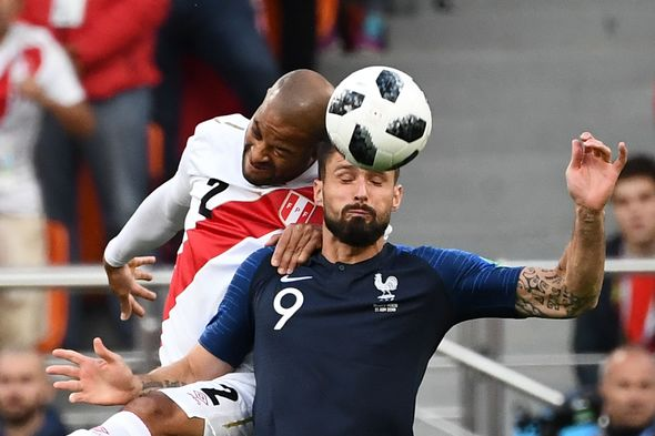 France vs Peru: Live World Cup score, goals and updates as Antoine Griezmann starts  World Cup result: France 1-0 Peru; Kylian Mbappe scores as Les Bleus reach knockout stages | Football | Sport France vs Peru Live World Cup score goals and updates as Antoine Griezmann starts 1390392