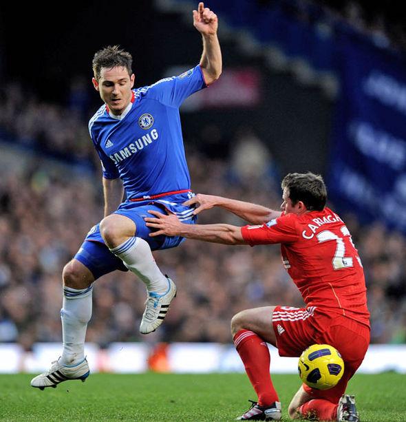 Frank Lampard Jamie Carragher Chelsea Liverpool