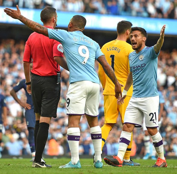 Gabriel Jesus saw his winner ruled out by VAR
