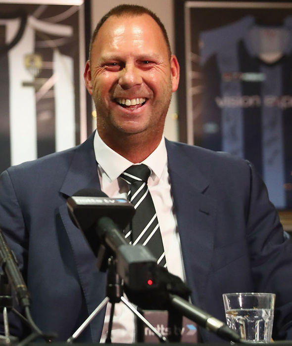 New Notts County owner Alan Hardy