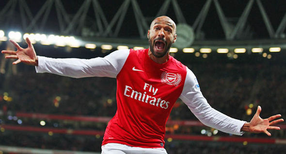 Henry is widely regarded as one of the best Premier League strikers in history
