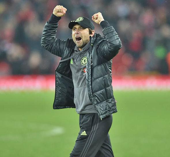 Italian Antonio Conte at Chelsea