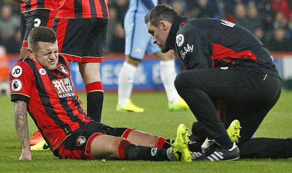Jack Wilshere injured