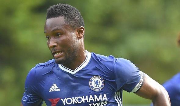 John Obi Mikel at Chelsea