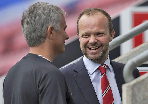 Jose Mourinho Ed Woodward