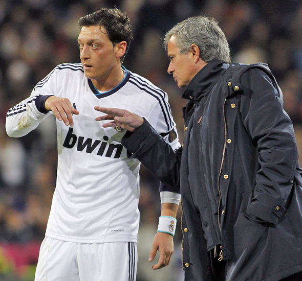 Jose Mourinho Mesut Ozil