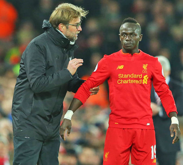 Jurgen Klopp will hope to have Mane back in time to face Chelsea