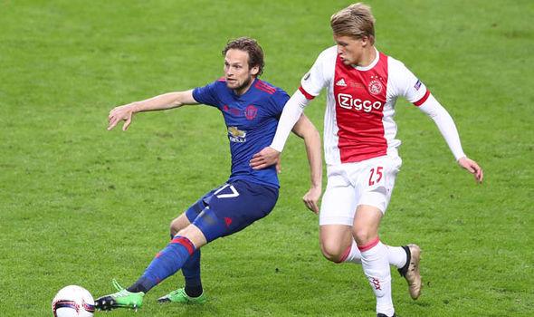 Kasper Dolberg Man Utd Transfer News