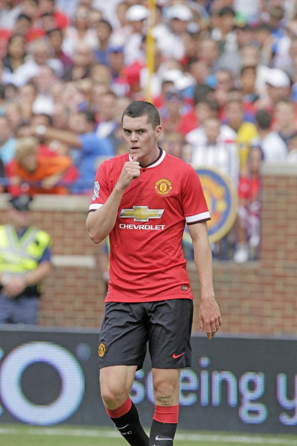 Michael Keane Manchester United