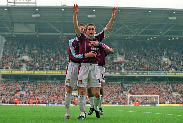 West Ham Frank Lampard