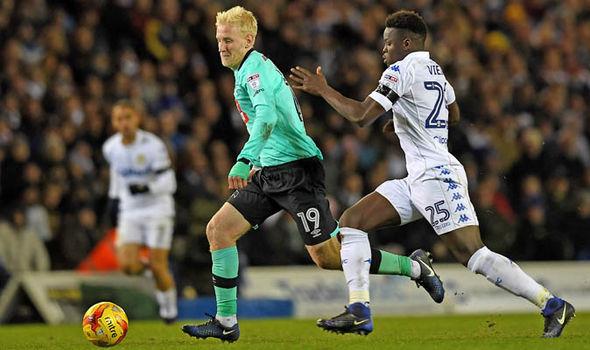 Ronaldo Vieira Leeds Derby