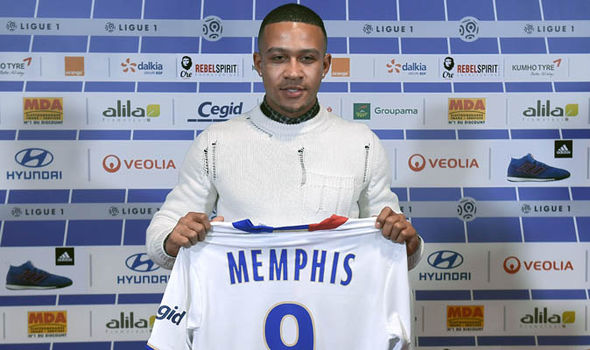 Memphis Depay Liverpool