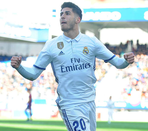 Liverpool are chasing the signature of Real Madrid ace Marco Asensio