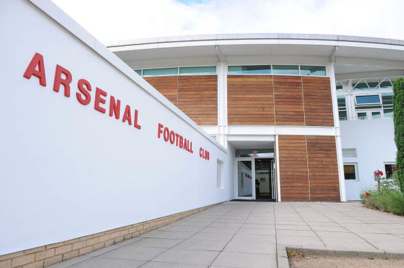 inside the new arsenal training centre