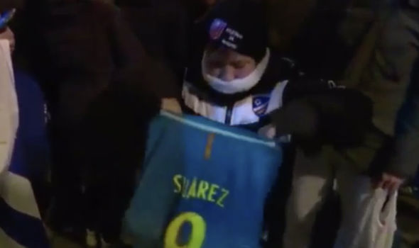 Luis Suarez fan