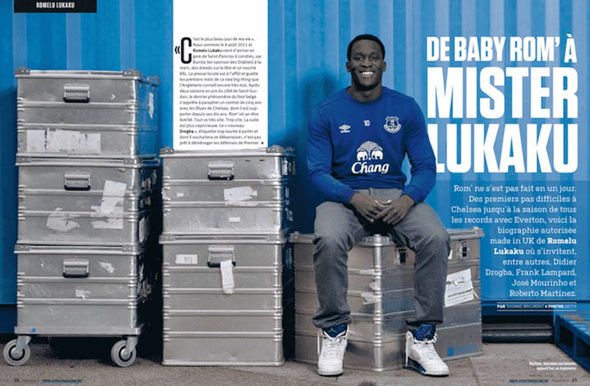 Lukaku admitted to watching the in-house TV channels of Chelsea, United and Madrid