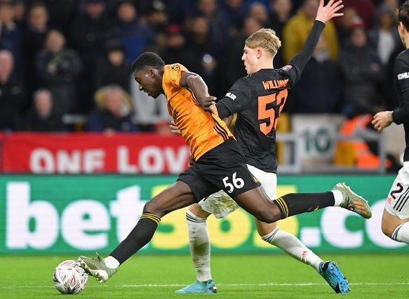 Man Utd Player Ratings Vs Wolves Brandon Williams