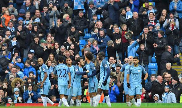 Manchester City goal