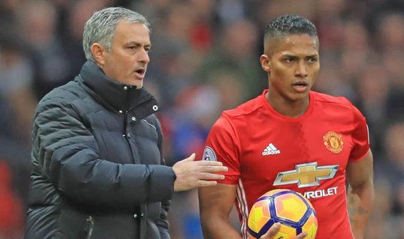 Antonio Valencia Jose Mourinho Manchester United