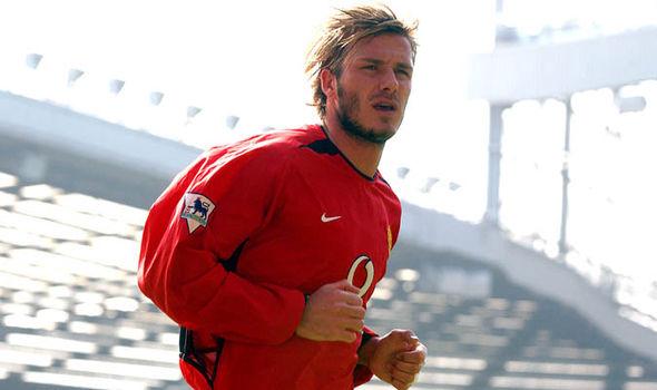 David Beckham Manchester United