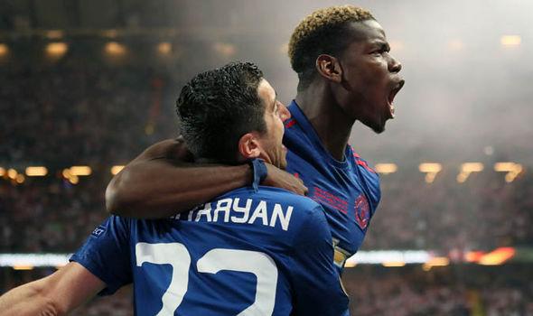 Manchester United Europa League final Jose Mourinho
