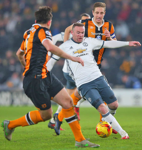 Manchester United face Hull tonight and could move two points away from the top four