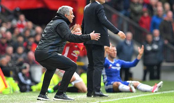 Manchester United v Chelsea Mourinho