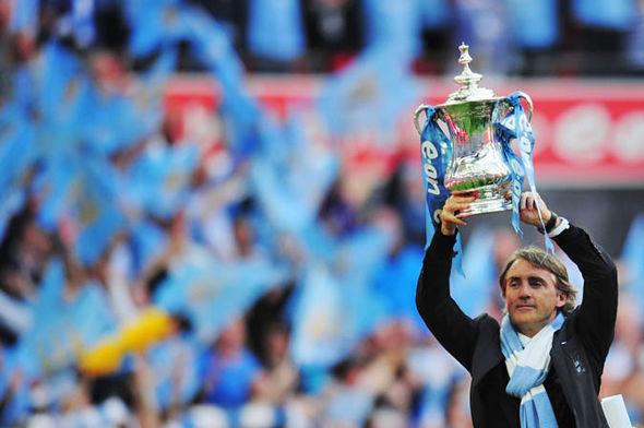 Mancini wins the FA Cup