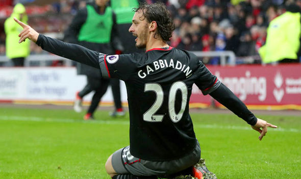 Manolo Gabbiadini Sunderland