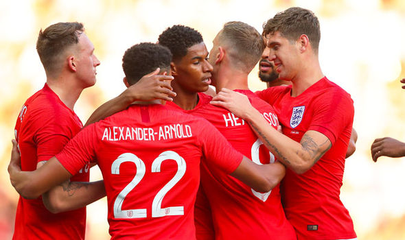 Marcus Rashford England Costa Rica goal