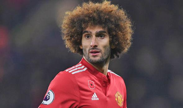 Marouane Fellaini Manchester United Premier League