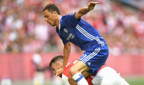 Nemanja Matic in action for Chelsea against Middlesbrough