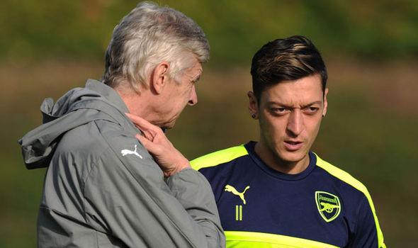 Arsene Wenger, Mesut Ozil