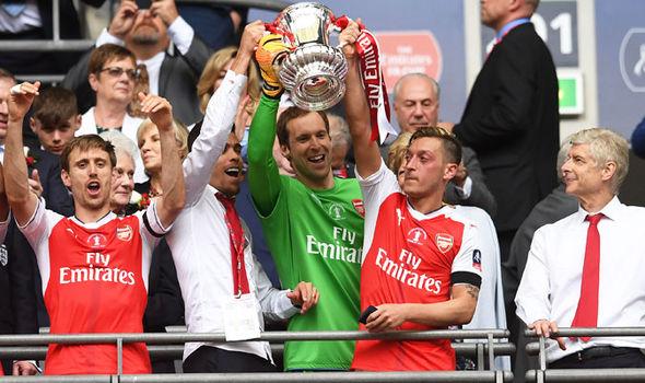 Mesut Ozil FA Cup