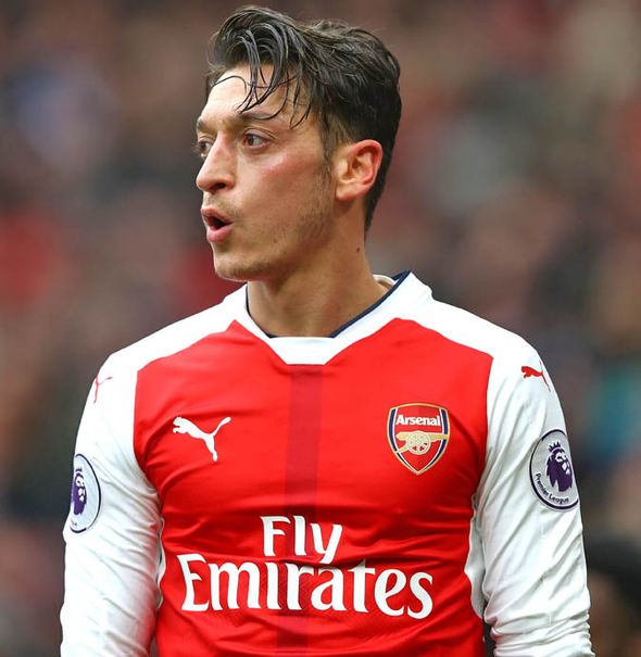 Mesut Ozil has not found the net in his last eight Premier League matches