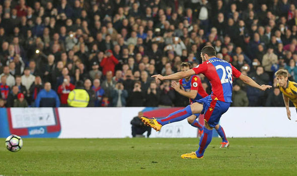 Milivojevic scores for Palace